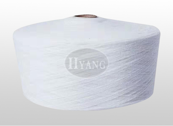 Polyester hollow yarn