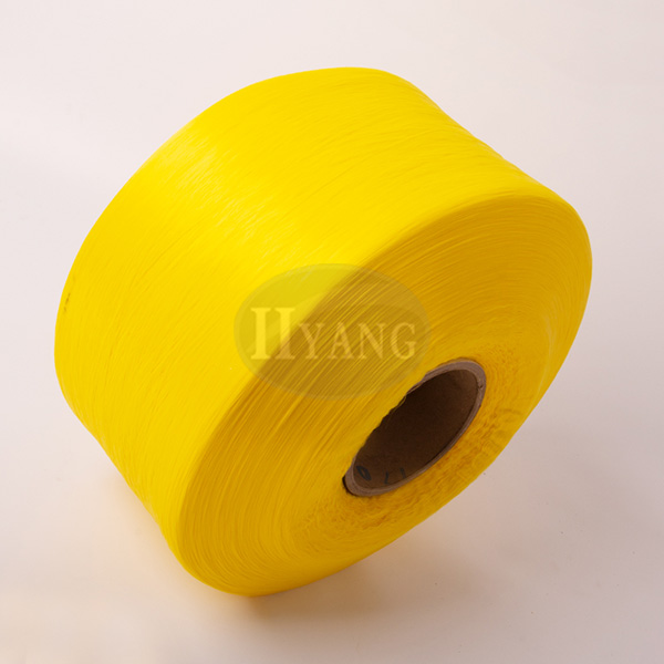 Yellow polypropylene high strength yarn