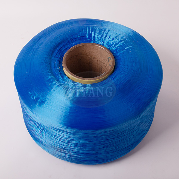 Blue polypropylene high-strength yarn